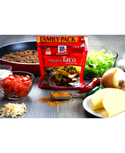 McCormick® Taco Mix, Original, Family Pack, 10 oz. Pouch