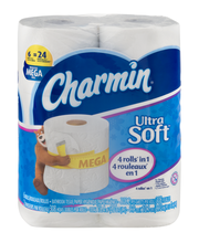 Ultra Charmin Ultra Soft Toilet Paper 6 Mega Rolls