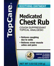 TOPCARE MEDICATED CHEST RUB