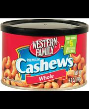 Wf Nuts Cashews Whl Salted