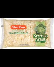 Silver Floss® Krrrrisp Kraut® Sauerkraut 2 lb. Bag