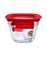 Rubbermaid 5.5 Cups Glass Food Storage with Lid