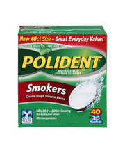 Polident® Triple Mint Freshness Smokers Antibacterial Denture...