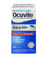 Bausch + Lomb Ocuvite  Adult 50+ Eye Vitamin & Mineral Supple...