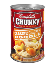 Campbell's® Chunky™ Classic Chicken Noodle Soup, 18.6 oz.