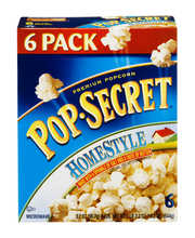 Pop-Secret® Homestyle Popcorn 6-3.2 oz. Bags