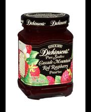 Dickinson's Cascade Mountain Pure Seedless Red Raspberry Pres...