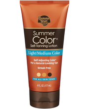 Banana Boat® Summer Color® Light/Medium Color Self-Tanning Lo...