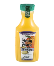 Simply Orange® Pulp Free Juice with Pineapple 1.75L Bottle