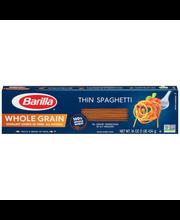 Barilla® Whole Grain Thin Spaghetti Pasta 16 oz. Box