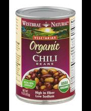 Westbrae Natural Vegetarian Organic Chili Beans