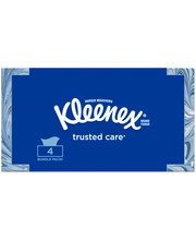 Kleenex® Trusted Care Facial Tissues 4-160 Ct Boxes