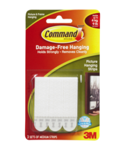 Command Damage-Free Hanging Picture Hanging Strips - 3 CT