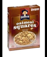 Quaker® Cinnamon Oatmeal Squares Crunchy Oat Cereal 14.5 oz. Box