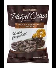Snack Factory® Dark Chocolate Crunch Pretzel Crisps® 4 oz. Bag