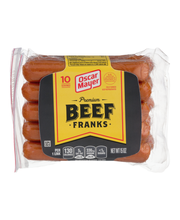 Oscar Mayer Classic Beef Franks 10 ct Pack