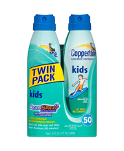 Coppertone® Kids Twin Pack Broad Spectrum SPF 50 Continuous S...