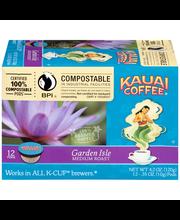 Kauai Coffee® Garden Isle Medium Roast Coffee Single Serve Cu...