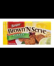Banquet Brown 'N Serve Turkey Sausage Patties - 8 CT