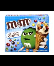 M&M's Ice Cream Cones - 6 CT