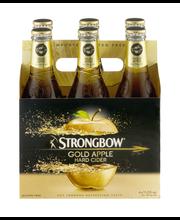 Strongbow® Gold Apple Hard Cider 6-11.2 fl. oz. Bottles
