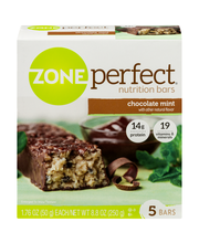 ZonePerfect® Chocolate Mint Nutrition Bars 5-1.76 oz. Wrapper