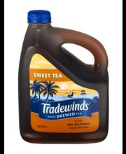 TRADEWINDS SLOW BREWED ICED TEA, Sweet Tea 1-gallon plastic jug