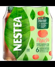 NESTEA Peach Tea 6-16.9 fl. oz. Plastic Bottles