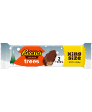 Reese's Holiday King Size Peanut Butter Trees 2 ct Pack