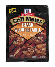 McCormick® Grill Mates® Island Woodfire Grill Marinade 1.1 oz...