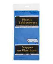 Unique Plastic Tablecovers Royal Blue