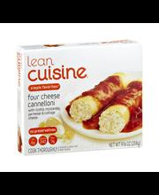 LEAN CUISINE FAVORITES Four Cheese Cannelloni 9.125 oz. Box