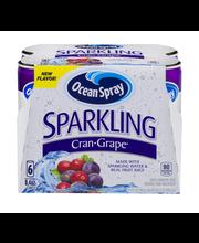 Ocean Spray® Sparkling Cran-Grape® Juice Beverage 6-8.4 fl. o...