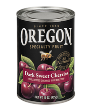 Oregon Fruit Products® Pitted Dark Sweet Cherries in Heavy Sy...