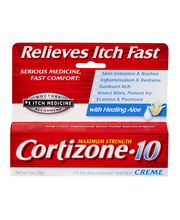 Cortizone-10 Maximum Strength Anti-Itch Creme with Healing Aloe
