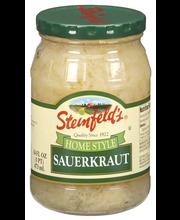 Steinfeld's Home Style Sauerkraut 16 Fl Oz Jar