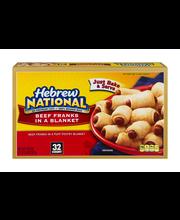 Hebrew National Beef Franks in a Blanket - 32 CT