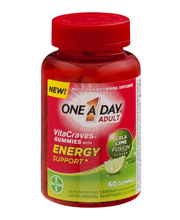 One A Day® Adult VitaCraves® Energy Support†* Multi Gummies 6...
