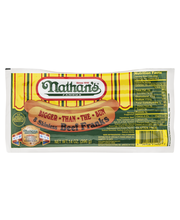 Nathan's Beef Franks Skinless - 8 CT