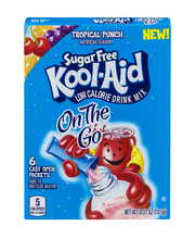 Kool-Aid On the Go Sugar Free Tropical Punch Low Calorie Drin...