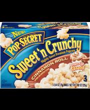 Pop Secret® Sweet 'n Crunchy Cinnamon Roll Popcorn 3-2.64 oz....