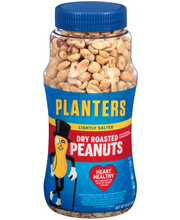 Planters Lightly Salted Dry Roasted Peanuts 16 oz. Jar