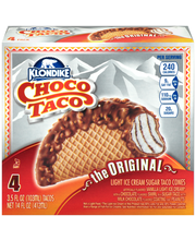 Klondike® Original Choco Taco® Ice Cream 4 ct Box