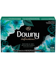 Downy® Infusions™ Botanical Mist Fabric Softener Sheets 105 c...