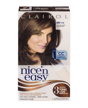 Clairol Nice 'N Easy Permanent Hair Color 6A Natural Light As...