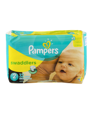 Pampers Swaddlers Size 2 Diapers 32 ct Pack