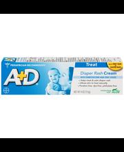 A+D® Treat Diaper Rash Cream 4 oz. Box