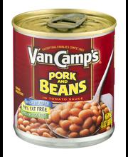 Van Camp's  Pork & Beans 8 Oz Can