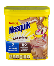 NESTLE® NESQUIK® Chocolate Flavored Powder 1.16 lb. Canister