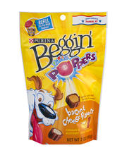 Purina Beggin' Party Poppers Bacon & Cheese Flavors Dog Snack...